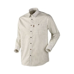 Рубашка мужская Harkila Stenstorp, Bright Olive Check/Button-down (14010992008)