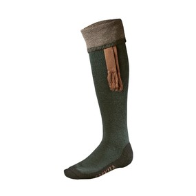 Носки мужские Harkila Sporting Estate sock, Bottle green/Bronz (170103310)