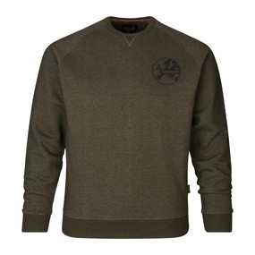Толстовка мужская Seeland Key-Point Sweatshirt, Pine green melange (160205436)