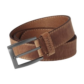 Ремень мужской Harkila Arvak leather belt, Dark sand, 100 (210103865)
