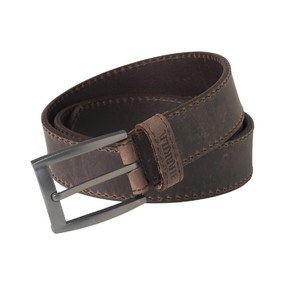 Ремень мужской Harkila Arvak leather belt, Deep brown, 110 (210103884)