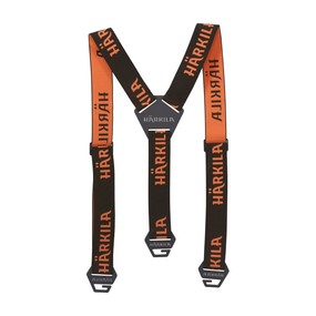 Подтяжки Harkila Wildboar Pro Tech braces, Brown/Orange blaze, One size