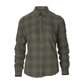 Рубашка женская Seeland Range Lady shirt, Pine green check