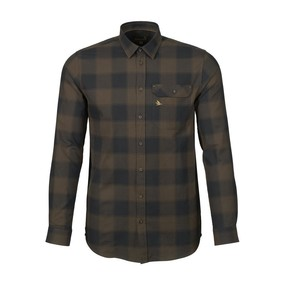 Рубашка мужская Seeland Highseat shirt, Hunter brown