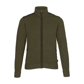 Кардиган мужской Seeland Buckthorn full zip cardigan, Shaded olive melange